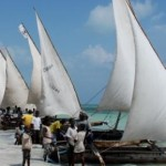Dhow ready for departure